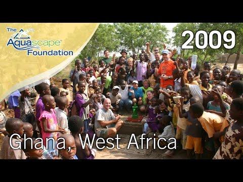 Aquascape Installs Rainwater Harvesting System Ghana, Africa