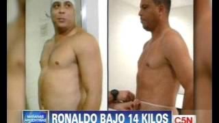 C5N - FUTBOL: RONALDO SIGUE BAJANDO DE PESO