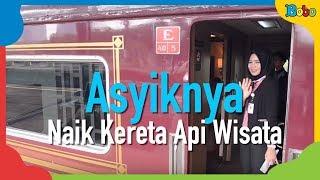 Pengalaman Seru dan Asyik saat Naik Kereta Api Mewah Nusantara yang Dulu Dinaiki Khusus Presiden
