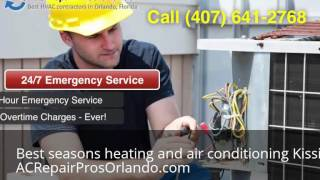 Best seasons heating and air conditioning Kissimmee Florida (407) 641-2768