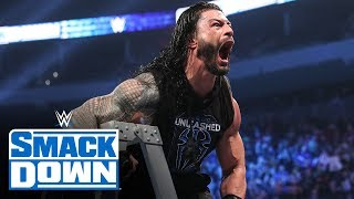 Roman Reigns unleashes on King Corbin & Dolph Ziggler: SmackDown, Dec. 13, 2019