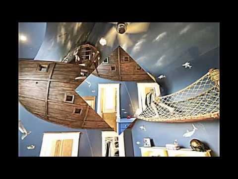 Kinderzimmer gestalten-- ein echtes Piratenschiff lädt zu Abenteuer ein