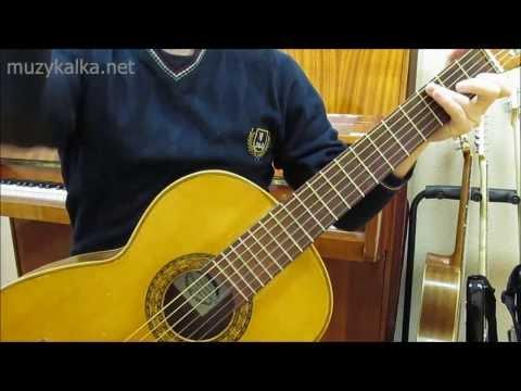 О. Митяев - Изгиб гитары желтой, аккорды, разбор на гитаре