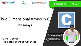 Download Youtube: Learn Two Dimensional Array in C language