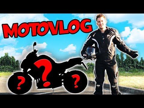 KOUPIL JSEM SI MOTORKU!   MotoVlog #1