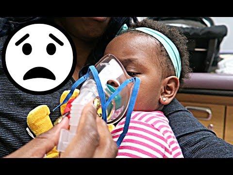 JAYLA NEEDS BREATHING TREATMENTS 😥😥🎅🏾👶🏾 | VLOGMAS DAY #8