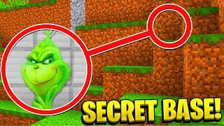 WE FOUND the GRINCH'S SECRET BASE in MINECRAFT! (Ps3/Xbox360/PS4/XboxOne/PE/MCPE)