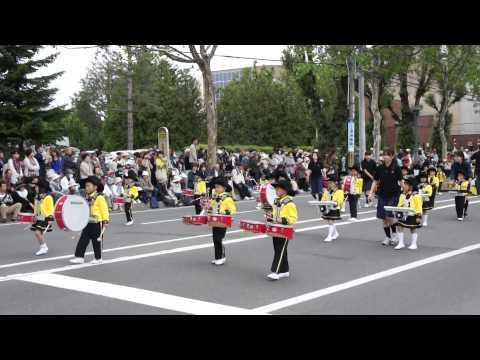 旭川蘭契保育園 ・第83回北海道音楽大行進2015