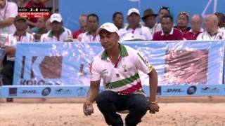 Championnat du monde 2016 de pétanque - Finale - Madagascar vs Bénin