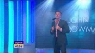 John Barrowman - Can't Take My Eyes Off You (ITV Daybreak Live Performance - Sep. 5th, 2011)