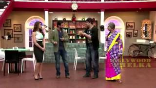 Saif & Hot Ileana Promoting Happy Ending On Set@TV Comedy Classes Full Show!!!
