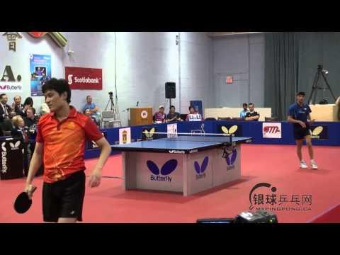 Kalinikos Kreanga vs Sun Jian Fei     Butterfly Open 2013