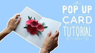 Открытка на 8 марта DIY | Pop Up Card DIY | Masherisha