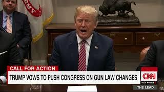 Trump has a new idea for gun control in schools
