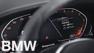 Where to find the odometer in Operating System 7 – BMW How-To