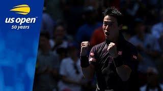 2018 US Open Quarterfinal Spot Booked for Kei Nishikori