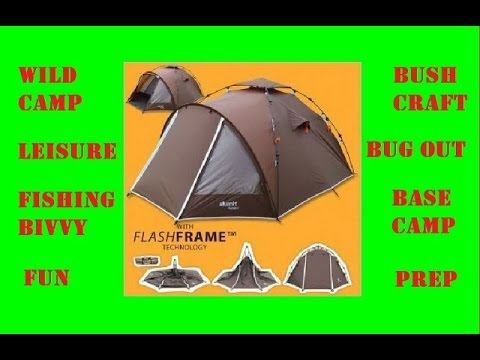 Quick Pitch Tent – SLUMIT GOBI 3 – Full Spec Review