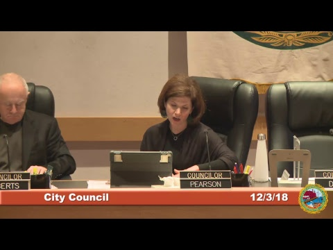 City Council 12.3.18