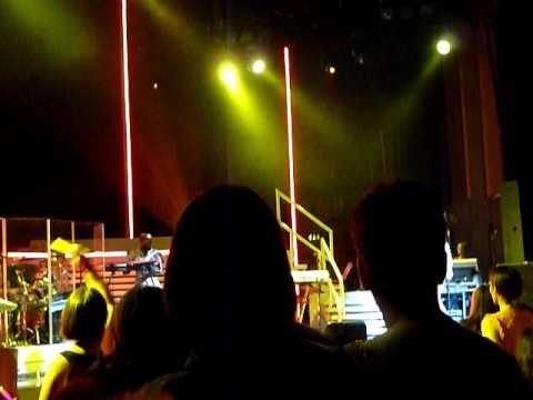 Anastasia Intro singing 'One Day in your life' live @ Hammersmith apollo london 25.06.09