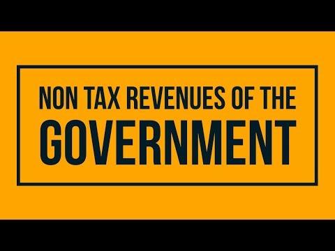 Non Tax Revenues of the Government - Class 12, Macro Economics