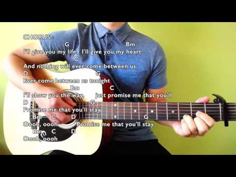 If You Stay Chords Lyrics Joseph Vincent