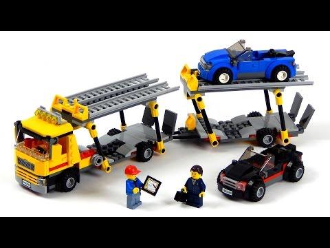 Vidéo LEGO City 60060 : Le camion de transport de voitures