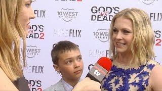 <b>Melissa Joan Hart </b>Interview Gods Not Dead 2 Premiere Red Carpet MelissaAndJoey