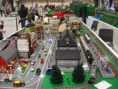 LEGO Fan Weekend Skærbæk Dänemark - Teil 1 Eisenbahn + Technik