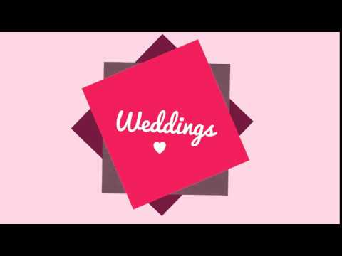 Motion Graphics Wedding