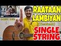 Raataan Lambiyan (Shershaah) 😍 - SINGLE STRING Guitar Tabs Lesson!   Guitar Lesson for Beginners!