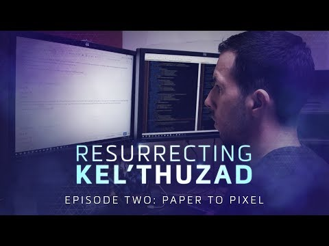 Resurrecting Kel'Thuzad: Paper to Pixel – Heroes of the Storm