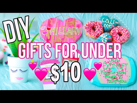 DIY GIFTS FOR UNDER $10!! V-Day Gifts For EVERYONE!!