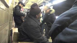 """oh my love my darling"" subway live, NYC"