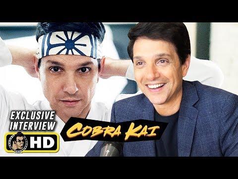 Ralph Macchio Interview for Cobra Kai Season 2 & 3 at Comic Con!