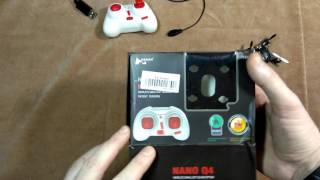 Подделка под Хабсан микро квадрокоптер Hubsan Nano Q4