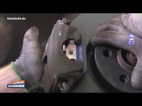 Bremsscheiben & Bremsbeläge wechseln (Vorderachse) - VW Golf 4 [TUTORIAL]