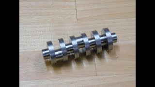 Turning a 1 Piece Miniature Crankshaft....This one is pretty cool