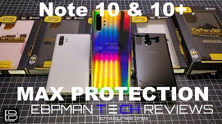Samsung Galaxy Note 10 Plus Cases from Otterbox   Fit & Wireless Charging Test