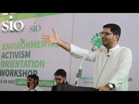 Suhail KK | Ex-President, SIO of India | Environmental Activism Workshop