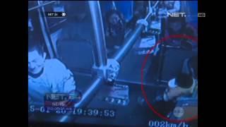 Tanpa Didampingi Orang Tua, Seorang Bayi Merangkak Naik Bus di China - NET24