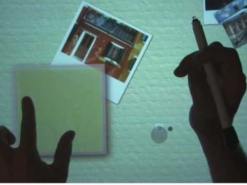 Microsoft Shows Off Finger/Stylus Combo Multitouch Magic