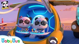 Where is Mr.Camel's New Year Parcel | Super Panda Rescue Team | BabyBus Cartoon for Kids