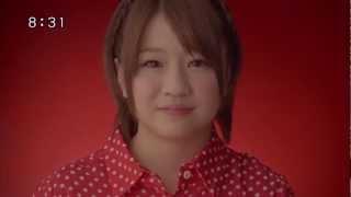 CMワンダ「メッセージ」編AKB48島田晴香