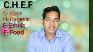 Professional Chef | What Is C.H.E.F