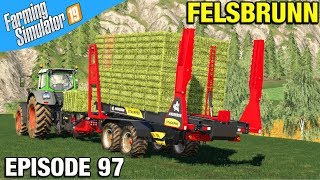SELLING SOME SILAGE Farming Simulator 19 Timelapse - The Old Stream