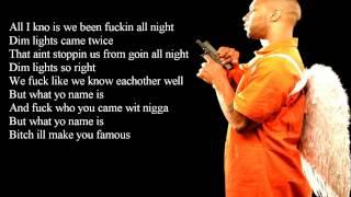 Joe Budden Ft. Emanny - What yo name is lyrics video