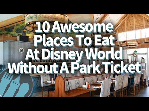 10 Surprising Places You Should Eat At Disney World (Without A Park Ticket!)
