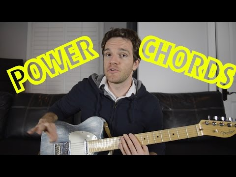 Guitar Power Chords and Substitutions