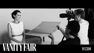 Teaser: Angelina Jolie's Vanity Fair Cover Shoot - Video Youtube