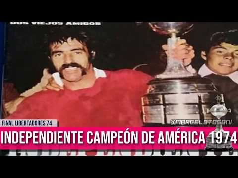 Final Libertadores 1974: Independiente vs Sao Paulo
